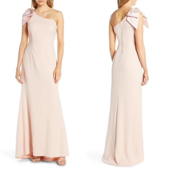 Eliza J Dresses & Skirts - ELIZA J ONE SHOULDER A-LINE GOWN 🆕